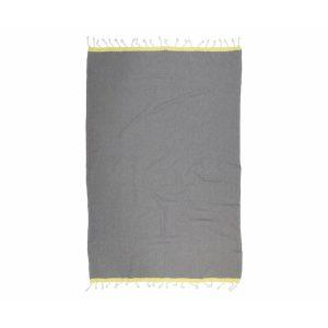 купить Пляжное полотенце Barine Pestemal Basak Grey-Yellow