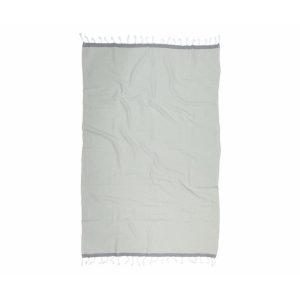 купить Пляжное полотенце Barine Pestemal Basak Light Grey