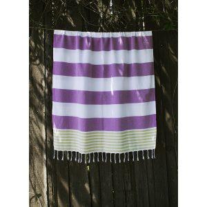 купить Пляжное полотенце Barine Pestemal Journey Olive-Purple