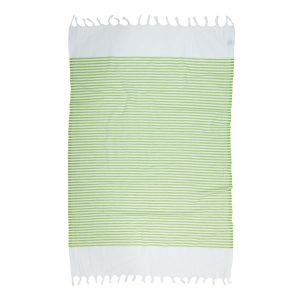 купить Пляжное полотенце Barine Pestemal White Imbat Green