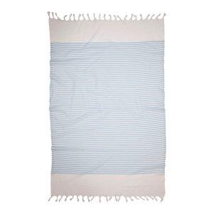 купить Пляжное полотенце Barine Pestemal White Imbat Powder-Blue