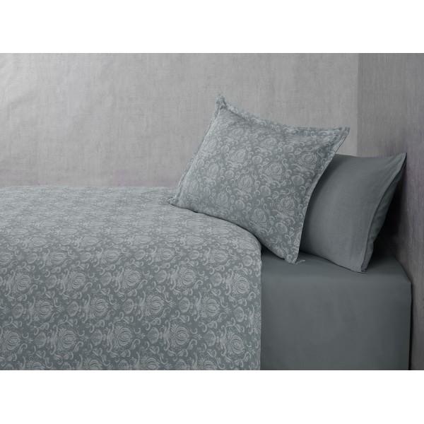 купить Постельное белье Buldans Blair celik grey king size Серый фото