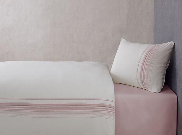 купить Постельное белье Buldans Elisa gul kurusu king size Розовый фото