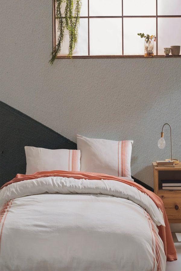 купить Постельное белье Buldans Elisa tarcin king size Оранжевый фото