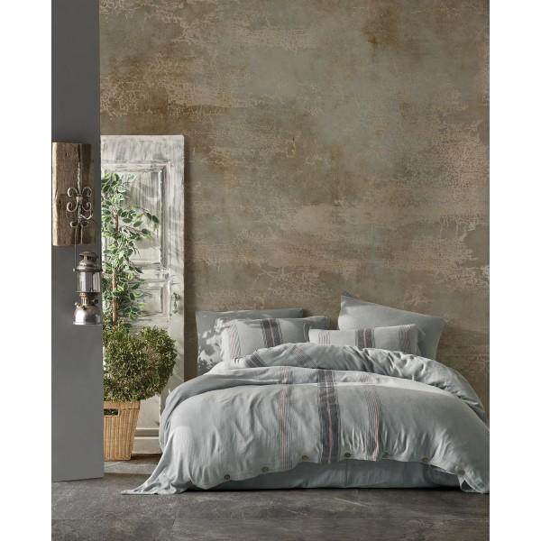 купить Постельное белье Buldans Pandora celik grey king size Серый фото