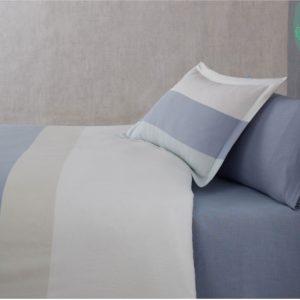 купить Постельное белье Buldans Verona smoky blue king size Синий фото