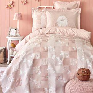 купить Постельное белье Пике Karaca Home Fizzy pudra Розовый фото