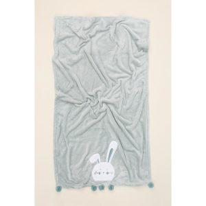 купить Детский плед Irya-Bunny mint