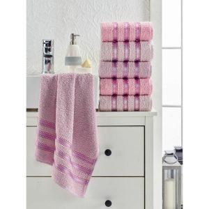 купить Набор полотенец Eponj Home-Vorteks 50x85 6шт makara pudra