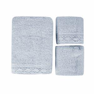 купить Набор полотенец Karaca Home-Lola mavi 3шт