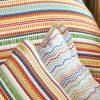 купить Постельное белье с покрывалом Karaca Home-Alegra Mood multi Оранжевый фото 106185
