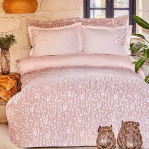 купить Постельное белье с покрывалом Karaca Home-Passaro blush Розовый фото