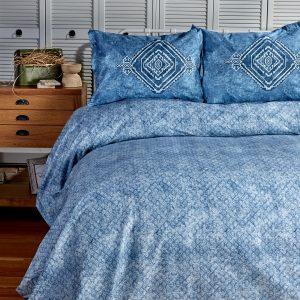 купить Набор постельного белья Sarah Anderson-Lanika mavi Голубой фото