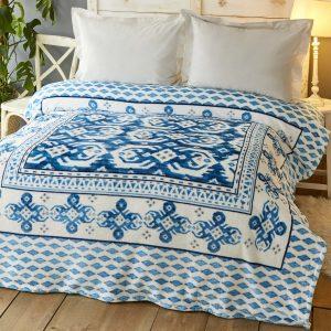 купить Плед Karaca Home-Neos mavi