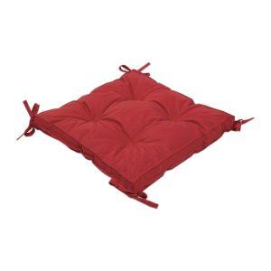 купить Подушка на стул с завязками Iris Home Optima Красный
