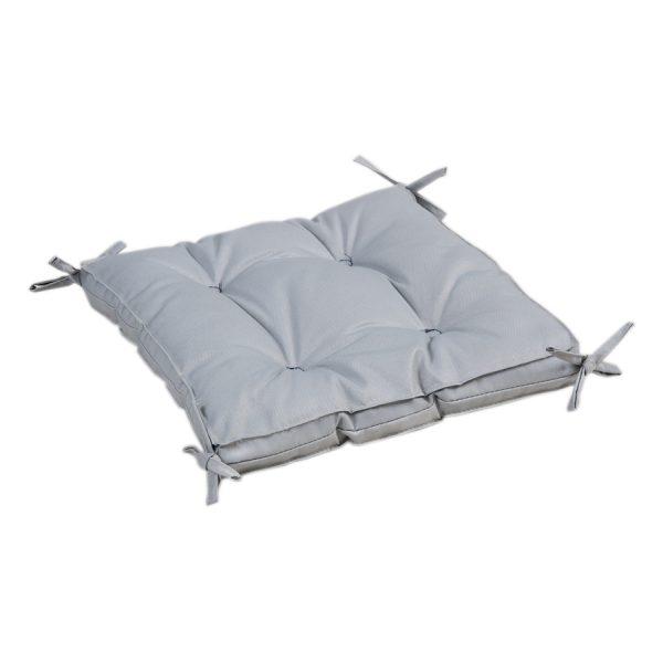 купить Подушка на стул с завязками Iris Home Optima Серый