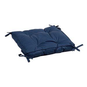 купить Подушка на стул с завязками Iris Home Optima Синий