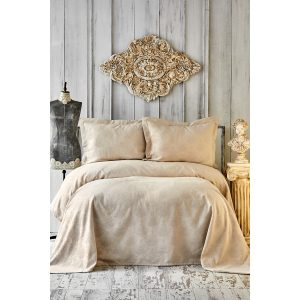купить Покрывало Karaca Home-Eldora gold