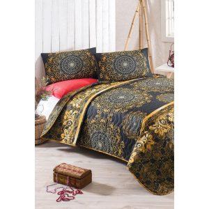 купить Покрывало стеганное с наволочками Eponj Home-Sehri-Ala gold