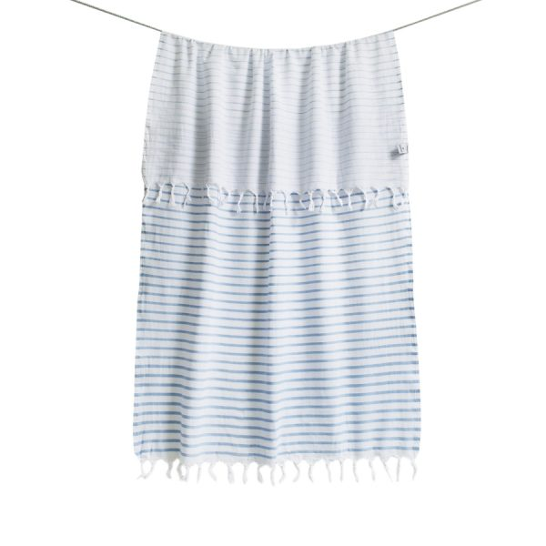 купить Пляжное полотенце Barine Pestemal-Reef 90x165 Powder-Blue