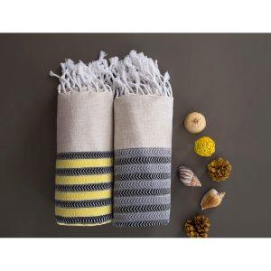 купить Пляжное полотенце Irya Pestemal-Side fume 90x170
