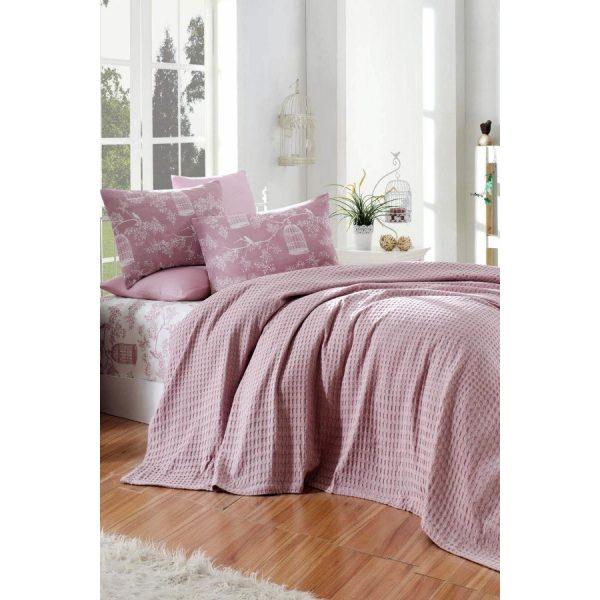 купить Постельное белье Eponj Home Paint Pike-Cage lila Розовый фото