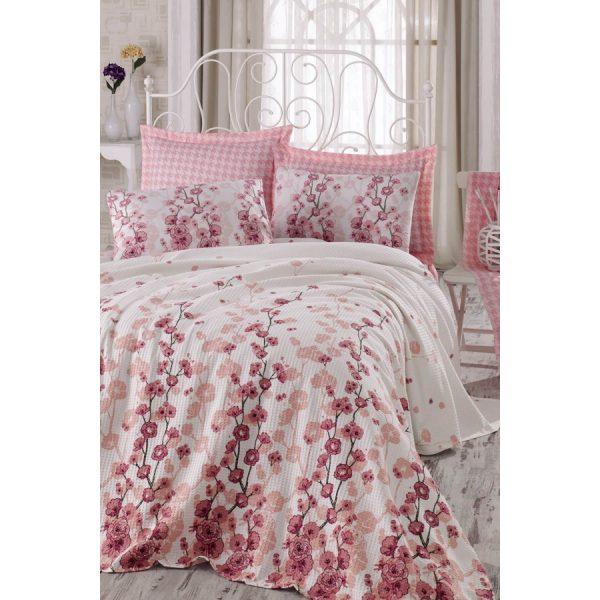 купить Постельное белье Eponj Home Pike-Coretta a.pembe Розовый фото