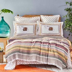 купить Постельное белье Karaca Home-Putisca multi pike jacquard Бордовый фото