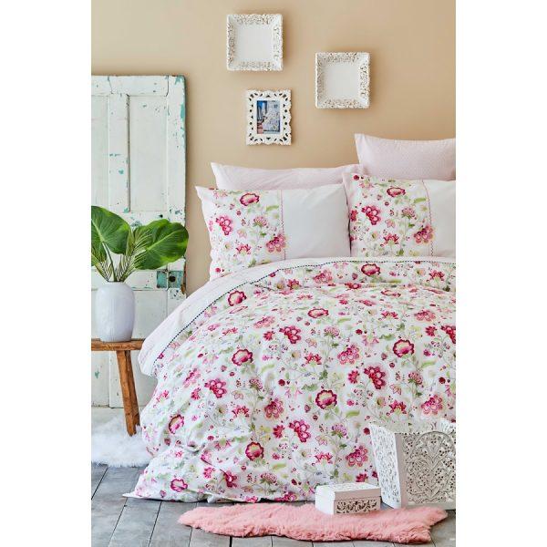 купить Постельное белье Karaca Home-April fusya bag Розовый фото