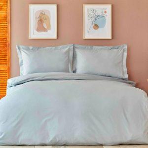 купить Постельное белье Karaca Home-Back To Basic a.mavi Голубой фото