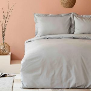купить Постельное белье Karaca Home-Back To Basic gri Серый фото