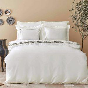 купить Постельное белье Karaca Home-Danea siyah Белый фото