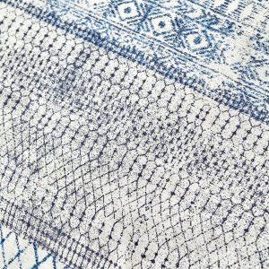 купить Постельное белье Karaca Home-Gianna indigo Голубой Серый фото