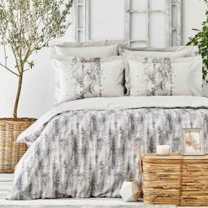 купить Постельное белье Karaca Home-Lepida gri Серый фото