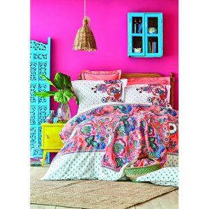 купить Постельное белье Karaca Home-Merida somon Розовый фото