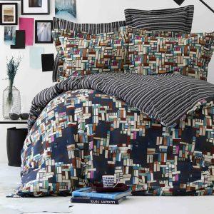купить Постельное белье Karaca Home-Tanis siyah Черный Синий фото