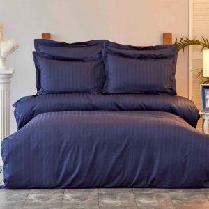 купить Постельное белье Karaca Home сатин-Charm bold lacivert Синий фото