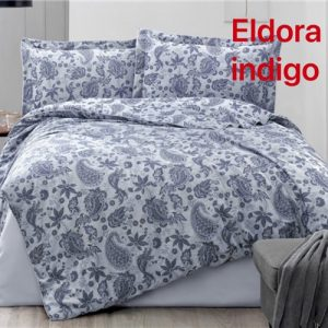 купить Постельное белье Altinbasak жаккард eldora indigo Синий фото