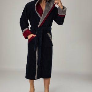 купить Мужской халат Nusa ns 1200 lacivert