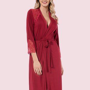 купить Женский халат Mariposa 8607 bordo