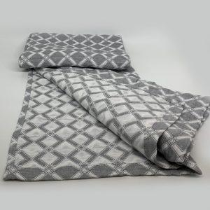 купить Плед вафельный SOFT SUMMER COTTON grey Серый фото