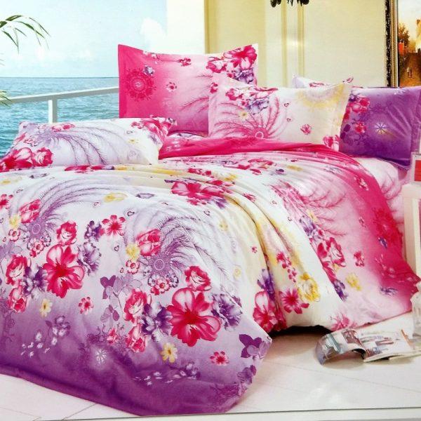 купить Постельное белье микросатин 100574 Розовый фото