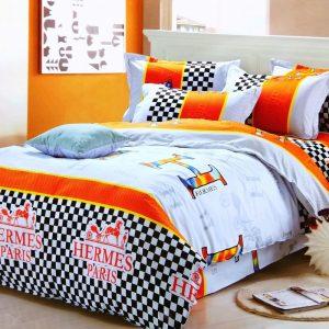 купить Постельное белье микросатин 100491 Оранжевый фото