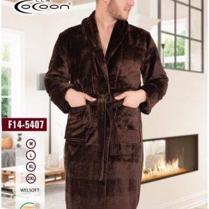 купить Мужской халат Cocoon 14-5407 brown