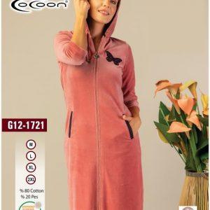 купить Женский халат Cocoon 12-1721 rose