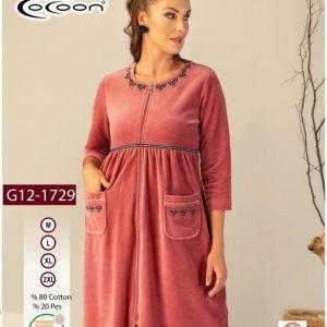 купить Женский халат Cocoon 12-1729 dusty rose