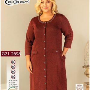 купить Женский халат Cocoon 21-2698