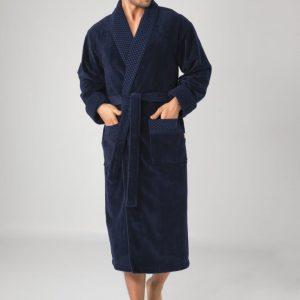 купить Мужской халат Nusa ns 20665 lacivert