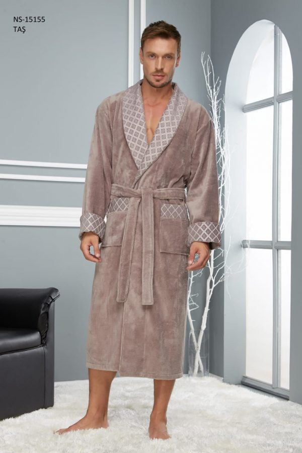 купить Мужской халат Nusa ns 15155 tas