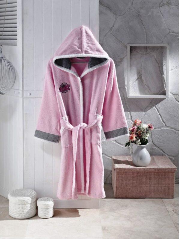 купить Детский халат Altinbasak pacific розовый